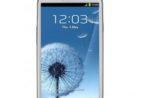 Samsung s3 mobil telefonu satilir
