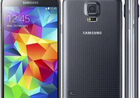 Samsung s5 mobil telefonu satilir