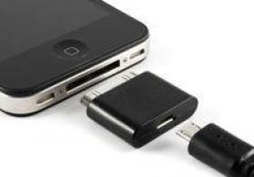 Iphone 4 ucun mikro usb