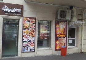28 may aerokassalar olan cergede hazir fast food biznesi satilir