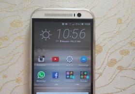 HTC one m8 satilir