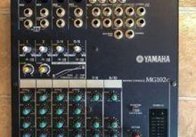 "Mikşer ""Yamaha MG102c"""