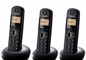 Panasonic - ofis ve is yerleri ucun 3 basli telefon. (yeni)