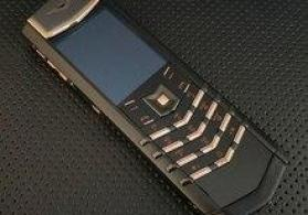 Vertu Perfect Signature S Design Gold Black