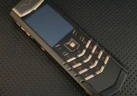 Vertu Polishing S Design Gold Black Mix