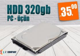 Hard disk pc 320 gb satilir