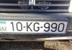 Avtomobil nömrəsi satılır