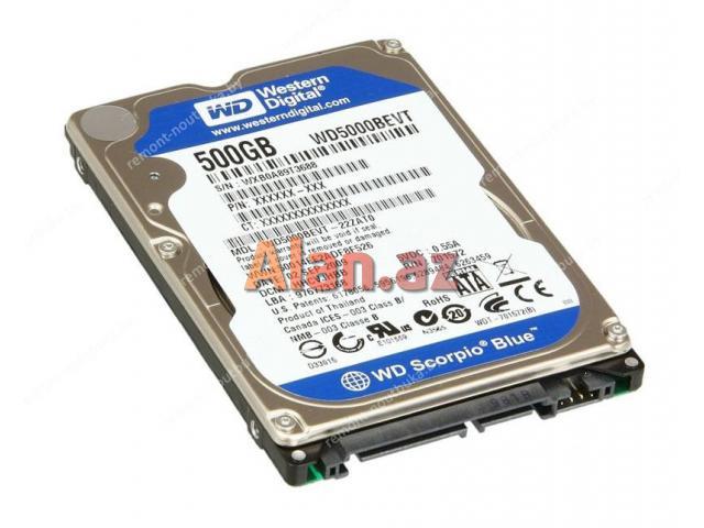 500 gb hard disk noutbuk ucun