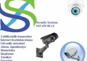 Təhlükəsizlik (nəzarət) kameraları. 055 450 88 14