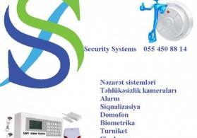 Alarm sistemləri / Siqnalizasiya / 055 450 88 14