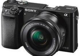 """Fotoaparat """"Sony Alpha a6000"""""""