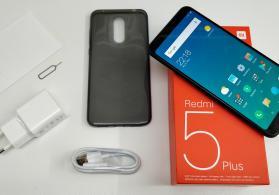 Xiaomi Redmi 5 Plus, 3/32GB Black