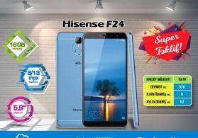 Hisense f24 black