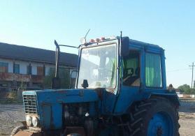 Traktor mtz 80 rotor kasilka ilə birlikdə