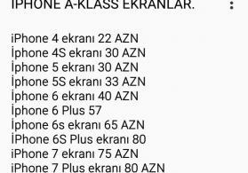 Orginal İphone Ekranları
