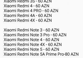 Orginal Xiaomi Ekranları