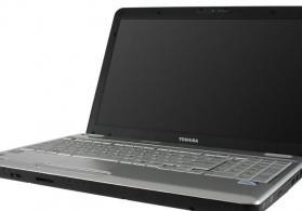 Toshiba L505D noutbuk