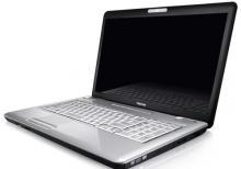Toshiba L500 noutbuk