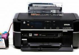 Rəngli printer. Epson PX660