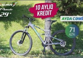 kreditlə velosiped satışı