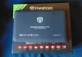 Planset Prestigio Multipad 7.0 HD+. 17,8cm Android Tablet. Dual Core 1.5GHz.