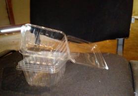 Plastik saxlama qabi
