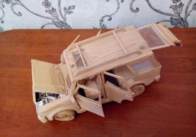 jeep-Taxta maşin modeli