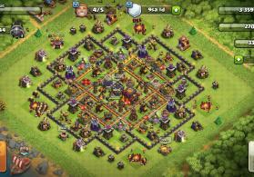 Clash of clans full 10