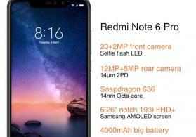 xiaomi Note 6 Pro 3/32GB Global version