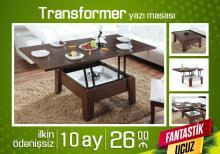 Transformer həm yazı masası həmdə jurnal masası