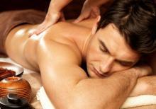 Ev seraitinde yalniz beylere massaj xidmeti