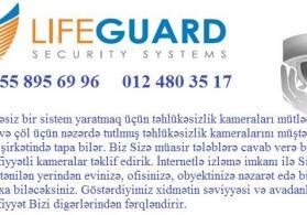 ❖Системы безопасности - продажа в Баку  ❖