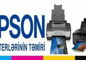 """""""Epson"""" printerlərinin təmiri"""