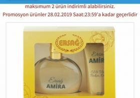 Amira qadın ətri, əl və bədən kremi