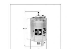 Yanacaq filteri Knecht KL82