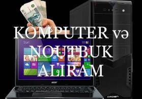 Yararsiz komputerlerin noutbuk ve netbuklarin alisi