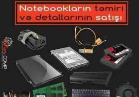 notebook ehtiyat hisselerinin satisi