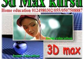 3Ds Max ve V-Ray Kurslari
