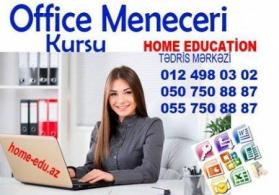 ofis menecer və katibə kursu