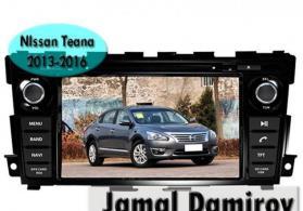 Nissan teana 2013-2016 üçün dvd- monitor