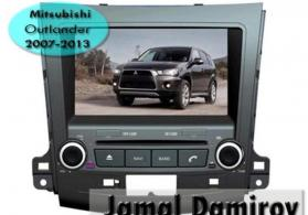 Mitsubishi outlander 2007-2013 üçün dvd- monitor.