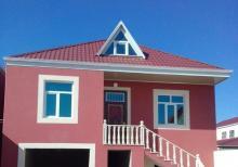 Yeni ramanada viola gul tukani ile uz uze 120 м² 2 mertebeli 4 otaq ev