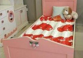 Uşaq yataq otağı mebeli