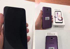 Samsung J6-2018 pruple