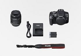 Canon EOS 2000D DSLR Camera and EF-S 18-55 mm f