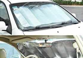 Avtomobil siti ucun guneslik padpres ucun alminium gunluk140x70 sm