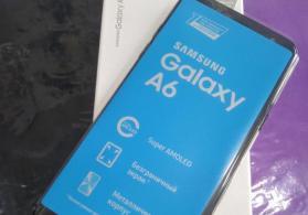 Samsung A6 2018 32/3 - 390azn Qeydiyyatli