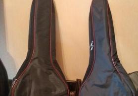 Gitara çantası qalın magterial