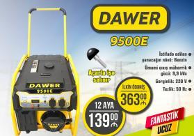 Generator Dawer 9500E Münasib Kreditlə Satışı Həmdə Arayışsız