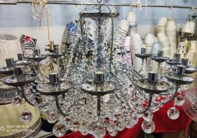 çilçiraq 16 samli model qizili ve gümüşü renglerde
